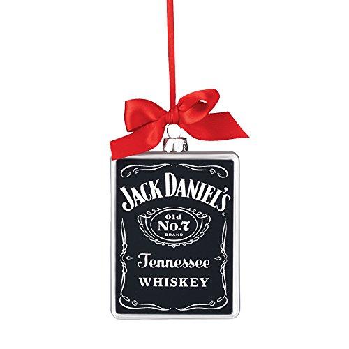 Department 56 Jack Daniels Old No. 7 Rectangle HangingOrnament, 4.125 inch