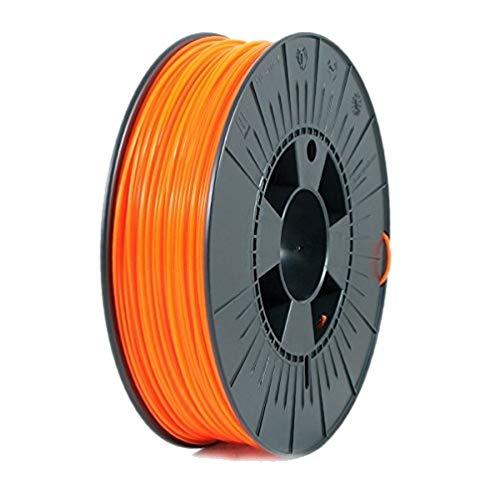 ICE Filaments ICEFIL1PLA039 filamento PLA,1.75mm, 0.75 kg, Fluo Obstinate Orange