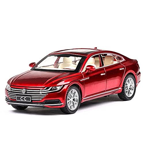 WUHAOD 1:32 Vehículos de aleación de fundición proporcional Simulación Interior Mini vehículos Regalo para niños pequeños Entusiasta del automóvil Modelo de automóvil Col