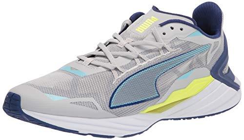 PUMA Men's ULTRARIDE Running Shoe, Gray Violet-Elektro Blue, 9