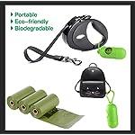 Dog Poop Bags Biodegradable 26 Rolls (390 Counts) Dispenser, Scented Leak-Proof Dog Waste Bags 11