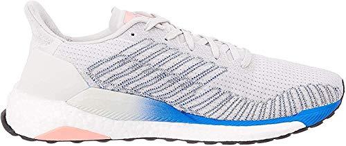 adidas Solar Boost 19 W, Chaussure de Course Femme, Grey One F17/Glory Blue/Light Flash Red, 45 1/3 EU