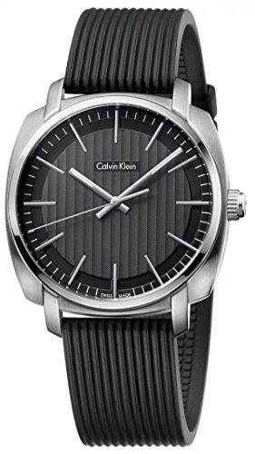 Calvin Klein Reloj Analógico para Hombre de Cuarzo con Correa en Caucho K5M311D1