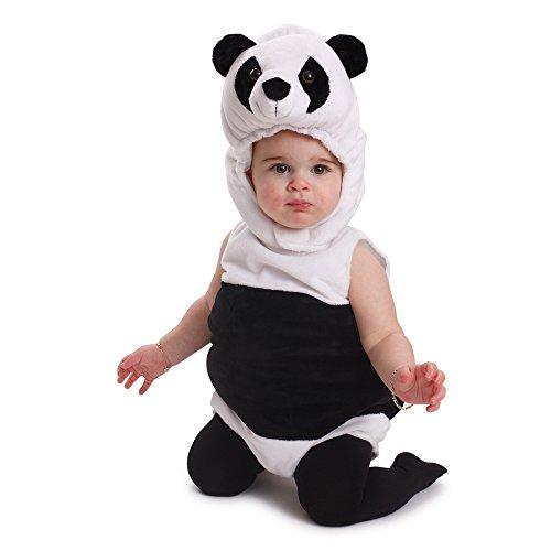 Dress Up America Knuffelig zuigeling Panda beer kostuum Infant outfit Halloween-kostuum