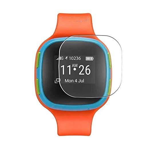 Vaxson 3 Stück Schutzfolie, kompatibel mit Alcatel CareTime Smart Watch, Bildschirmschutzfolie TPU Folie [nicht Panzerglas] Neue Version