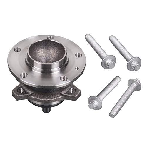 Febi bilstein 102780 Kit de roulement de roue avec moyeu de roue, anneau d'extraction et vis de fixation