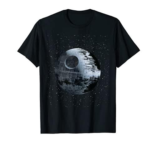 Star Wars Death Star Alone In A Crowd of Galaxies T-Shirt
