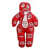 Enjoyyouselves Bad Boss - Muñeca de vudú de poliéster personalizada, venganza mágica, holiday, fiesta, regalo, antiestrés, juguete para niños, fiestas