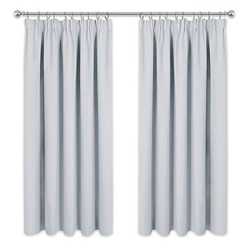 cortinas habitacion blancas de ganchos