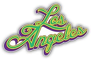 Magnet Los Angeles Slogan USA Window Truck Car Vinyl Flexible Magnet Magnetic Bumper Sticker 5'' x 3''