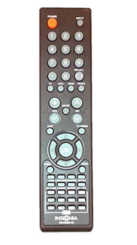 Brand NEW Insignia Comb DVD TV REMOTE NS-RC05A-13 NS-RC04A-12 for Insignia NS-32LD120A13 NS-24LD100A13 NS-29LD120A13 NS-19ED200NA14 NS-28ED200NA14 NS-19LD120A13 NS-LTDVD19-09 NS-LTDVD26-09 NS-LTDVD32-09 NS-LDVD19Q-10A NS-LDVD26Q-10A NS-LDVD32Q-10A COMB DVD+TV REMOTE