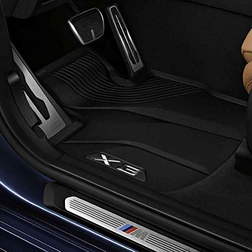 BMW 51472450511 All-Weather Floor Mats for G01 X3 (Set of 2 Front Mats)