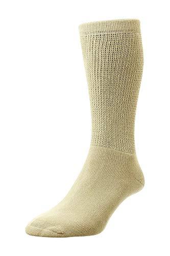 Mens señoras HJ Hall calcetines de diabético ajuste suave