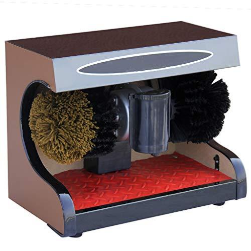 ZSQDSZ Lustrador de Zapatos: lustrador automático de Calzado, máquina de Cepillado automático...
