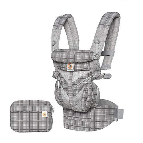 Ergobaby(エルゴベビー) ERGO Baby エルゴベビー (Ergobaby) 抱っこひも メッシュ おんぶ 前向き抱き [日本正規品保証付] (洗濯機で洗える) ベビーキャリア 成長にフィット オムニ360 クールエア/グレープレイド CREGBCS360PGYPL 0か月~… グレープレイド 0か月~