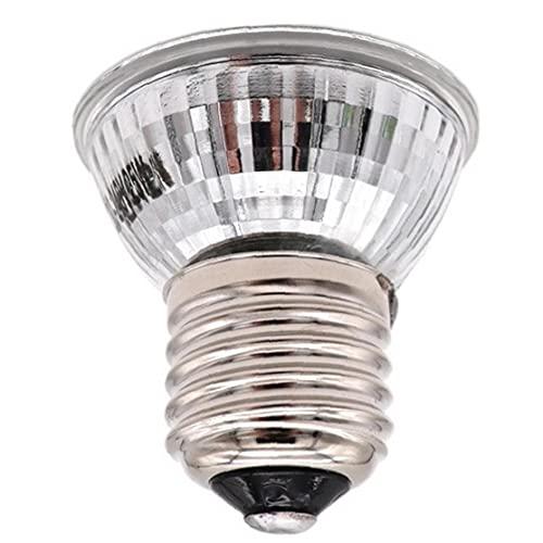 Sanfiyya Bombilla de la lámpara de Calor Reptil E27 Calefacción Tomar el Sol la luz UV de la lámpara de calefacción 110V 25W para la Tortuga Lagarto Reptil Amphibianf Estilo 1 Necesidades Diarias