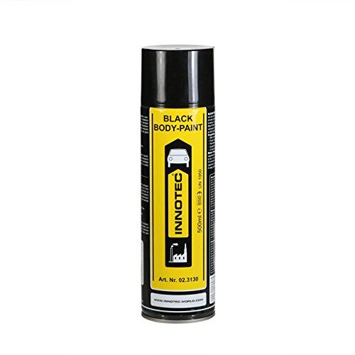 Innotec Black Body Paint, schwarz, 500 ml Spraydose