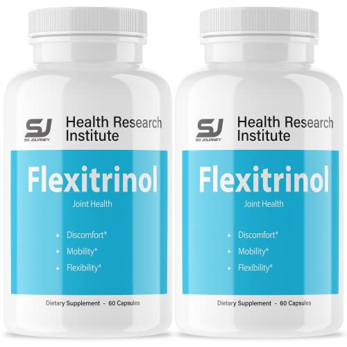 (2 Pack) Flexitrinol Joint Relief Supplement (120 Capsules)
