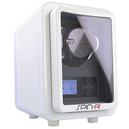 Uhrenbeweger Box für 1 Uhr – inkl.Akku | Netzteil | Display - Spin-R weiß Uhrenbeweger für Automatikuhren 702