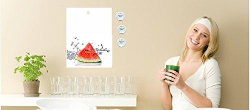 wodtke-werbetechnik magneetbord voor kookchips receptenhouder voor Thermomix watermeloen