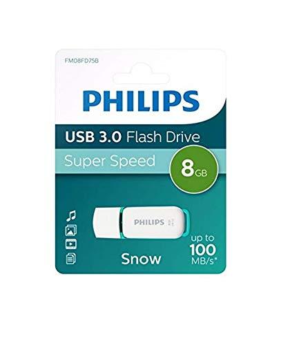 Philips Snow Super Speed 8 GB USB Stick 3.0 - Bis zu 100 MB/s lesen - 8GB