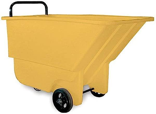 Bayhead Haul All Tilt Trucks 26 Wx48 Dx30 H 275 Lb Capacity Yellow