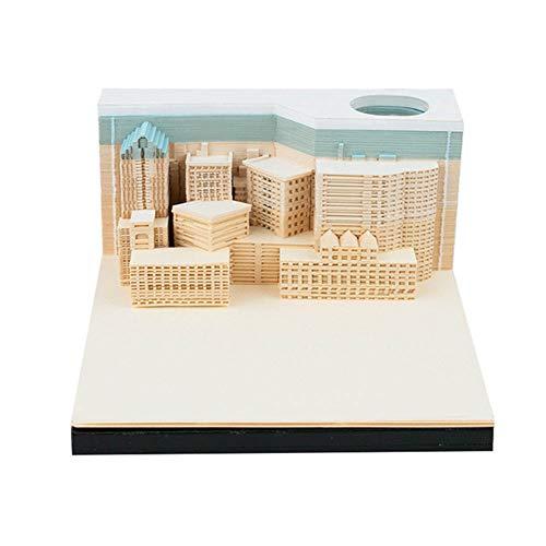 3D-Model Gescheurd Gradiënt Papier Kunst Cultuur Gift Gift Nota-Papier, Papieren Carving DIY Kunst Decoratie, Is Een Ideale Legpuzzel Model Collectie