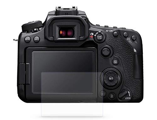 2er Pack Monitorschutzglasfolie digiCOVER EASY Canon EOS 90d