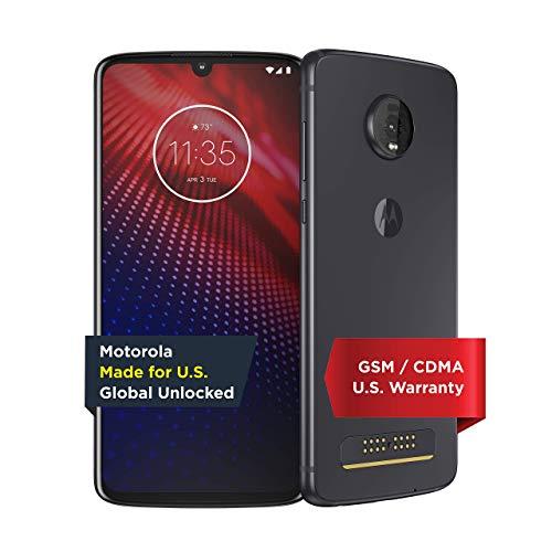 Moto Z4 | Unlocked | Made for US by Motorola | 4/128GB | 48MP Camera |...