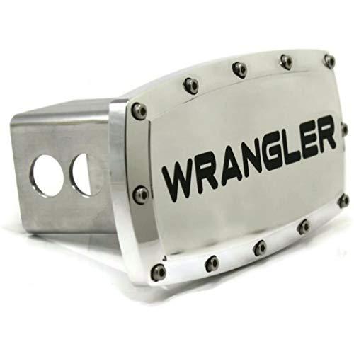 Jeep Wrangler Gravur Billet-Aluminium Anhängerkupplung, Plug