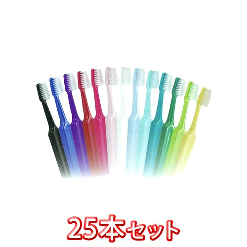 土器さまようスラム街TePe (テペ) セレクトミディアム 歯ブラシ 25本入