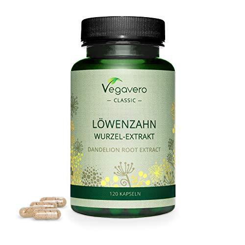 TARASSACO Vegavero® | 1400 mg | Depurativo e Diuretico Naturale | 120 capsule | Dente di Leone | Vegan