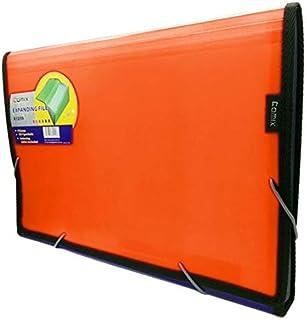 حافظة فلسكاب 13 جيب لون برتقالي من كومكس A1209