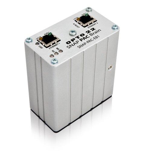 Opto 22 SNAP-PAC-EB1 - SNAP PAC Ethernet Brain, Analog/Digital/Serial, with High-Speed Digital Functions, 16 MB RAM