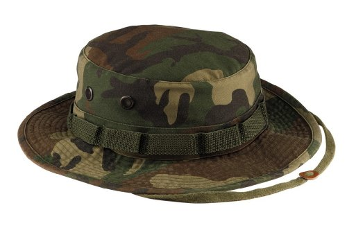 Ultra Force 5900 Vintage Woodland Camo Boonie Hat (7.25)