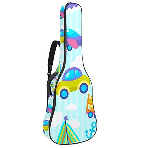 Bolsa para guitarra con diseño de avión y ancla de tren de...