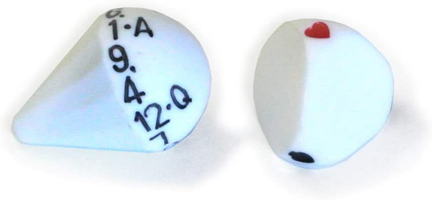 Roll a Card Bargain sale of Pair mart Dice