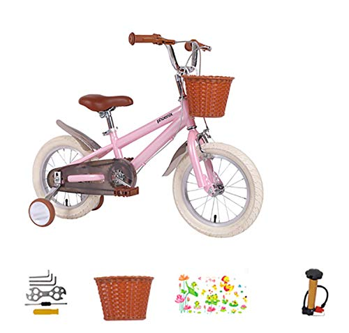 AI-QX 14 Pulgadas Bicicleta Infantil Estudio Aprendizaje Montar a Caballo Bicicleta niños...