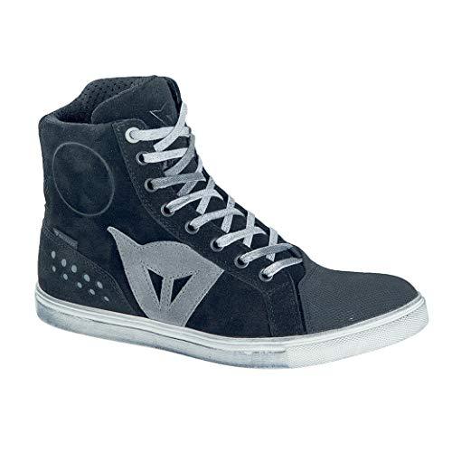 DAINESE Street Rocker D-WP Lady Shoes, Scarpe Moto Donna Impermeabili, Nero
