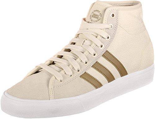 adidas Matchcourt High RX, Zapatillas de Skateboard para Hombre, Blanco (Ftwwht/Gum416/Cblack Ftwwht/Gum416/Cblack), 48 EU