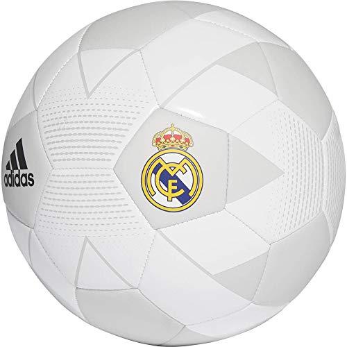 adidas Herren Real Madrid Football Fußball, Cream White/Grey One/Black, 5