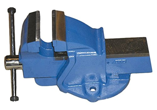 JBM 51572 Tornillo de banco, azul, 150 mm
