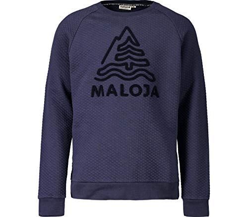 Maloja Herren Sihlm. Sweatshirt, Blau (Mountain Lake 8139), Medium