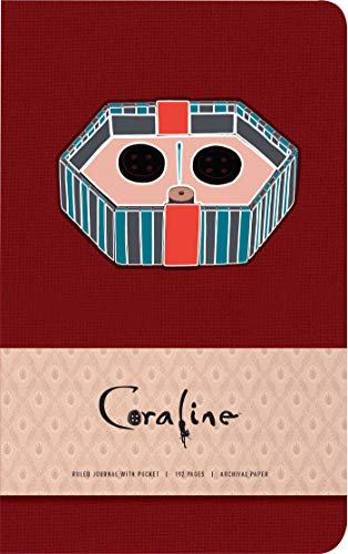 Coraline Hardcover Ruled Pocket Journal
