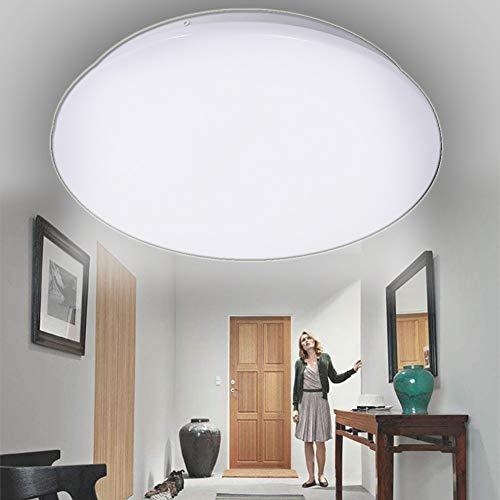 HAITOY 24W Downlight LED Plafón con Sensor De Movimiento Lámpara De Pared...