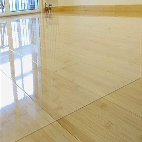 FCZBHT Stuhlunterlage, Bodenschutzmatte Hartboden,Transparente Bodenschutzfolie, Geeignet Für Haushalte Und Büros 12 Größen (Color : A-1.5mm, Size : 140 * 200cm)