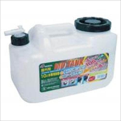 TS(ティーエス) 水缶 MDタンク10L コック付 ポリタンク 10L