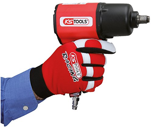 KS Tools 310.0250 Leder-Mechaniker-Handschuh, L - 5