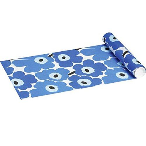 Marimekko Einweg - Tischläufer Unikko Blue 33 x 480 cm