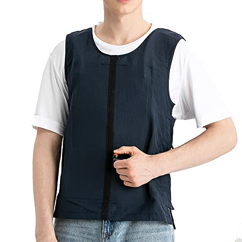 Personal Outerwear Cooling Vest,Ice Water Circulation Cooling System, Fashionable, Adjustable, Slim...